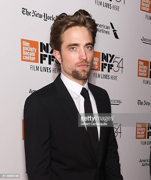 Actor Robert Pattinson attends the Closing Night Screening of 'The Lost City Of Z' for the 54th New York Film Festival at Alice Tully Hall, Lincoln...