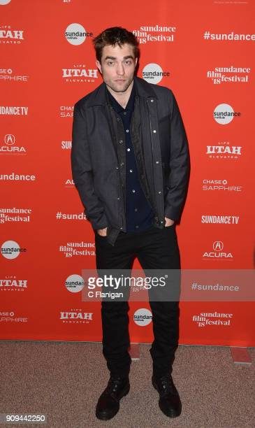 Actor Robert Pattinson attends the 'Damsel' Premiere during the 2018 Sundance Film Festival at Eccles Center Theatre on January 23 2018 in Park City...