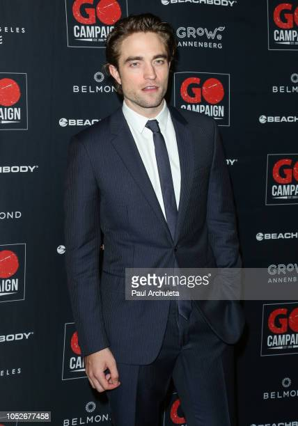 Actor Robert Pattinson attends the GO Campaign Gala 2018 at the City Market Social House on October 20 2018 in Los Angeles California
