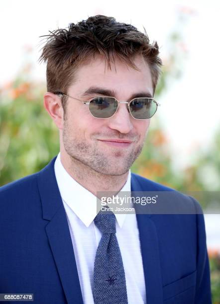 Actor Robert Pattinson attends the 'Good Time' photocall during the 70th annual Cannes Film Festival at Palais des Festivals on May 25 2017 in Cannes...
