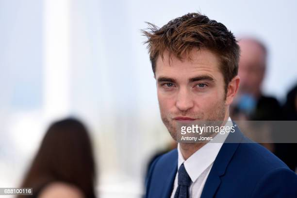Actor Robert Pattinson attends the Good Time photocall during the 70th annual Cannes Film Festival at Palais des Festivals on May 25 2017 in Cannes...