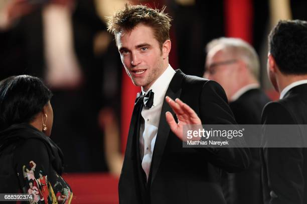 Actor Robert Pattinson attends the 'Good Time' screening during the 70th annual Cannes Film Festival at Palais des Festivals on May 25 2017 in Cannes...