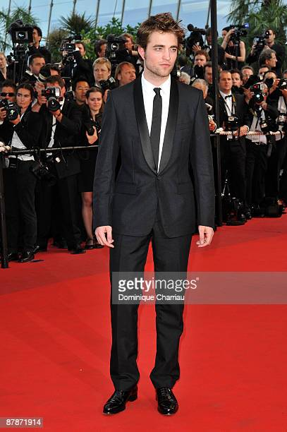 Actor Robert Pattinson attends the 'Inglourious Basterds' Premiere at the Grand Theatre Lumiere during the 62nd Annual Cannes Film Festival on May 20...