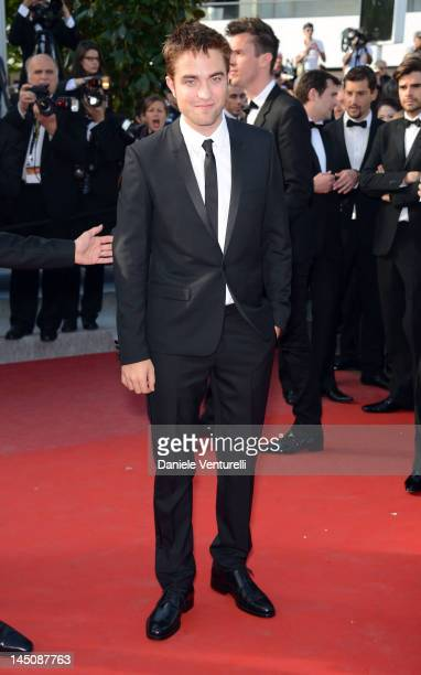 Actor Robert Pattinson attends the 'On The Road' Premiere during the 65th Annual Cannes Film Festival at Palais des Festivals on May 23 2012 in...