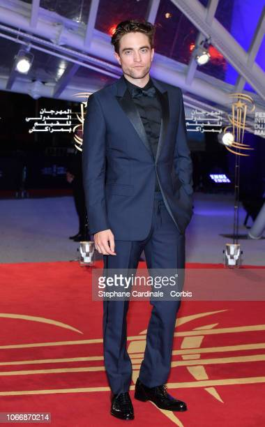 Actor Robert Pattinson attends the Opening Ceremony of the 17th Marrakech International Film Festival on November 30 2018 in Marrakech Morocco