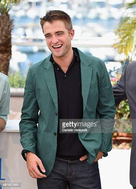 Actor Robert Pattinson attends 'The Rover' photocall at the 67th Annual Cannes Film Festival on May 18 2014 in Cannes France