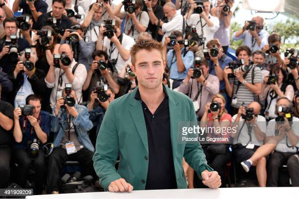 Actor Robert Pattinson attends 'The Rover' photocall during the 67th Annual Cannes Film Festival on May 18 2014 in Cannes France