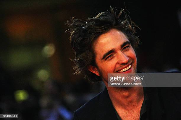 Actor Robert Pattinson attends the 'Twilight' Premiere during the 3rd Rome International Film Festival held at the Auditorium Parco della Musica on...