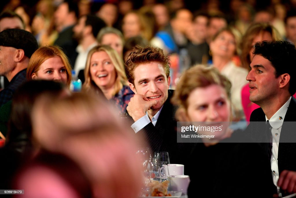 Actor Robert Pattinson during the 2018 Film Independent Spirit Awards on March 3, 2018 in Santa Monica, California.