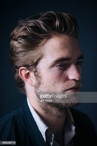 Actor Robert Pattinson is photographed for a Portrait Session at the 2014 Toronto Film Festival on September 9 2014 in Toronto Ontario