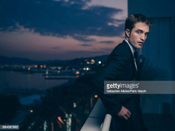 Actor Robert Pattinson is photographed for Paris Match on May 25 2017 in Cannes France