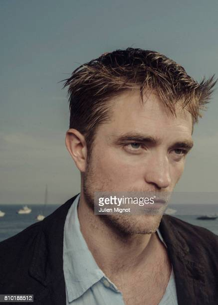 Actor Robert Pattinson is photographed for the New York Times on May 24 2017 in Cannes France
