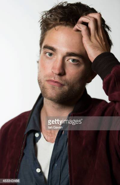 Actor Robert Pattinson is photographed on August 6 2014 in London England
