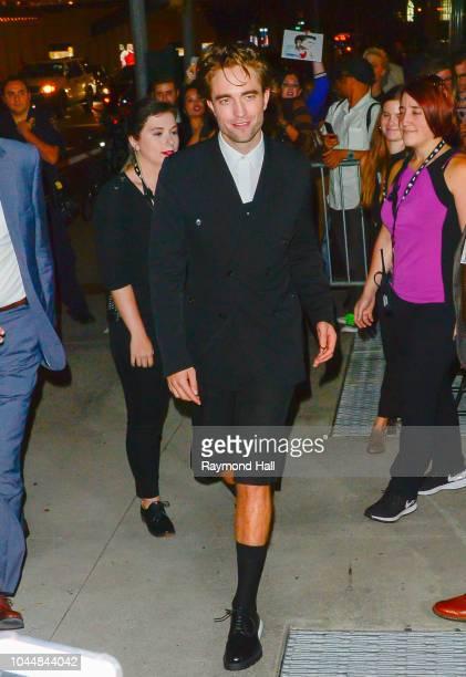 Actor Robert Pattinson is seen walking in midtown on October 2 2018 in New York City