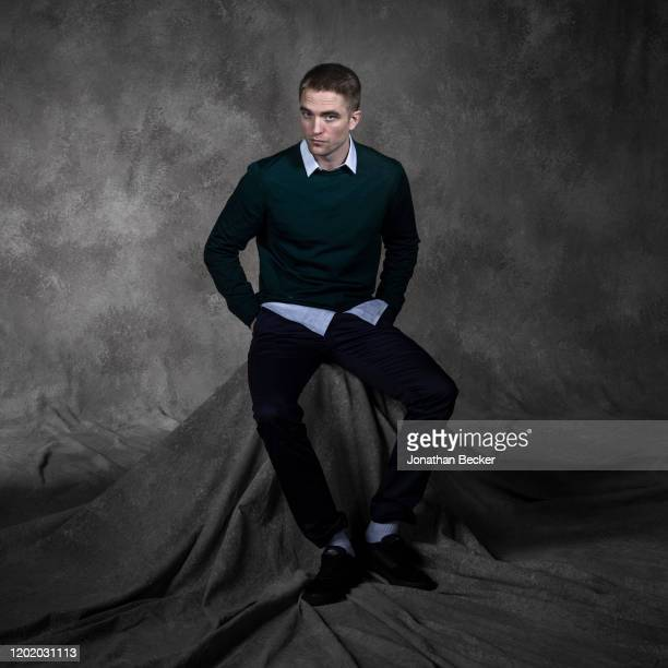 Actor Robert Pattinson poses for a portrait at the Savannah Film Festival on November 3, 2017 at Savannah College of Art and Design in Savannah,...