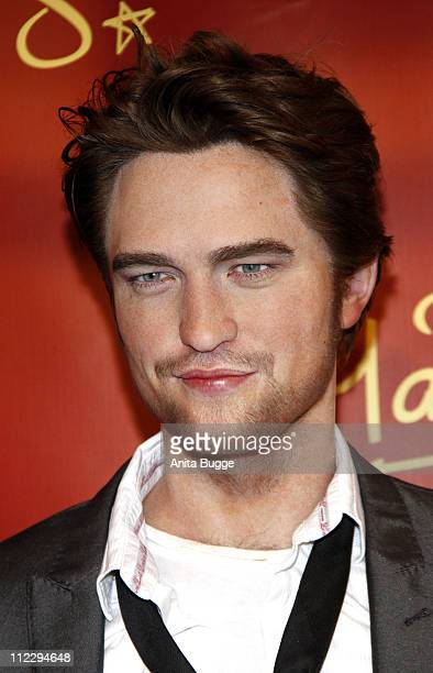 Actor Robert Pattinson's wax figure has been unveiled at Madame Tussaud's Berlin on April 18 2011 in Berlin Germany