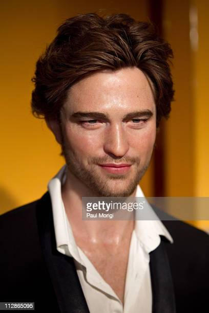Actor Robert Pattinson's wax figure is unveiled at Madame Tussauds on April 22, 2011 in Washington, DC.