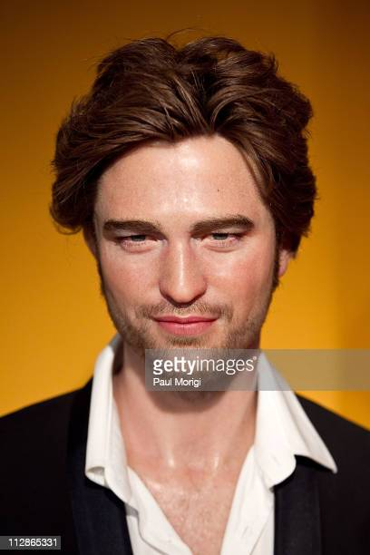 Actor Robert Pattinson's wax figure is unveiled at Madame Tussauds on April 22 2011 in Washington DC