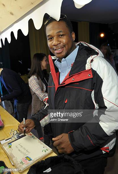 Actor Robert Randolph attends The PUMA FaasLab Lounge at The Samsung Galaxy Tab Lift on January 25 2011 in Park City Utah