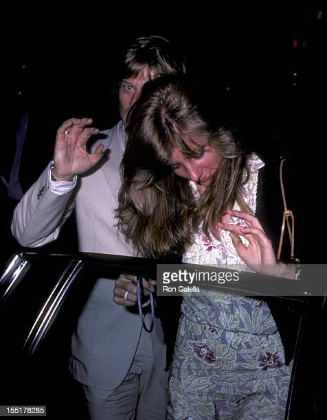 Actor Robert Redford and Lola Redford sighted on June 6 1980 in New York City