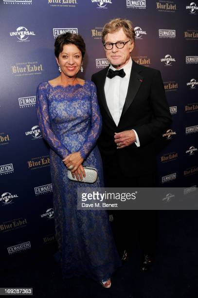 Actor Robert Redford and wife Sibylle Szaggars attend the 'All is Lost' after party in association with Universal and Film Nation hosted by Johnnie...