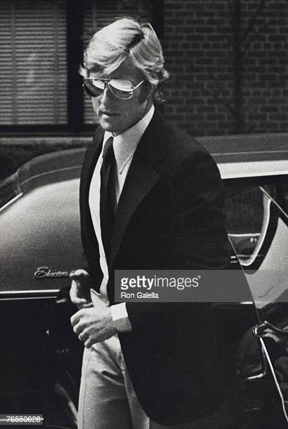 Actor Robert Redford attending Mary Lasker's Cocktail Party for Wayne Owens on May 15 1974 in New York CIty New York
