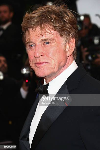 Actor Robert Redford attends the 'All Is Lost' Premiere during the 66th Annual Cannes Film Festival at Palais des Festivals on May 22 2013 in Cannes...