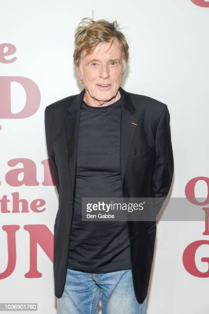 Actor Robert Redford attends The Old Man The Gun New York Premiere at Paris Theatre on September 20 2018 in New York City