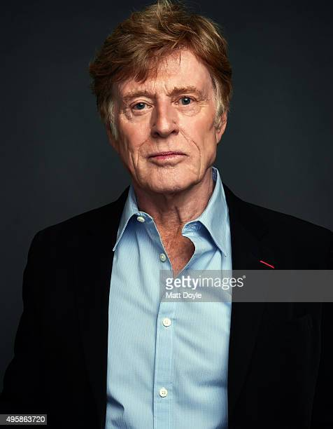 Actor Robert Redford is photographed for the SAG Foundation on August 26 in Los Angeles California Credit must read Matt Doyle/SAG Foundation/Contour...