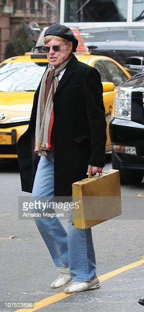 Actor Robert Redford is seen December 10 2010 in New York City