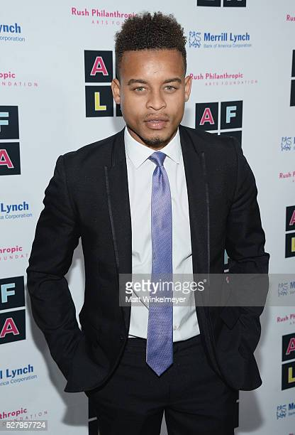 Actor Robert Ri'chard attends Russell Simmons' Rush Philanthropic Arts Foundation's inaugural Art For Life Los Angeles at Private Residence on May 3...