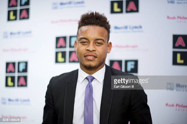 Actor Robert Ri'chard attends Russell Simmons 'Rush Philanthropic Arts Foundation's Inaugural Art For Life Los Angeles' on May 3 2016 in West...