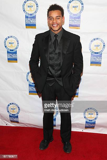 Actor Robert Ri'chard attends the 23rd Annual NAACP Theatre Awards at Saban Theatre on November 11 2013 in Beverly Hills California