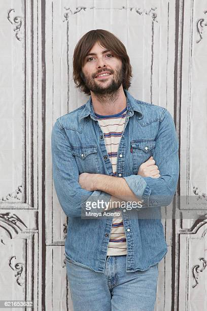 """Actor Robert Schwartzman discusses the new film """"Dreamland"""" at AOL HQ on November 7, 2016 in New York City."""