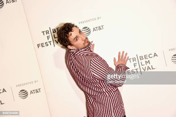 Actor Robert Sheehan attends 'Genius Picasso' during the 2018 Tribeca Film Festival at BMCC Tribeca PAC on April 20 2018 in New York City