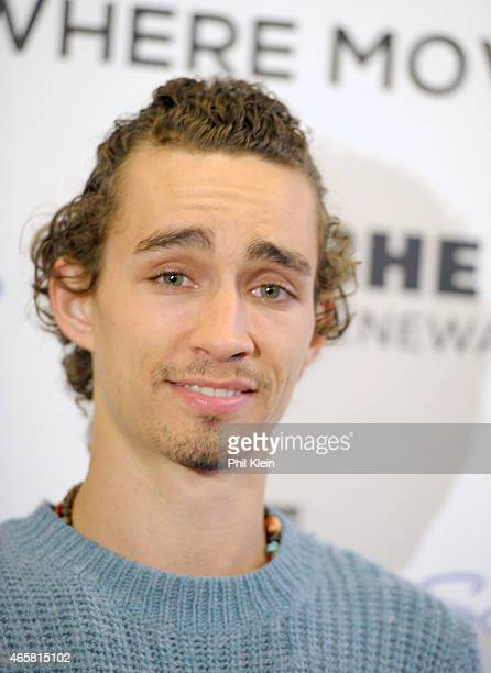 Actor Robert Sheehan attends the 2015 San Luis Obispo International Film Festival at Fremont Theatre on March 10 2015 in San Luis Obispo California