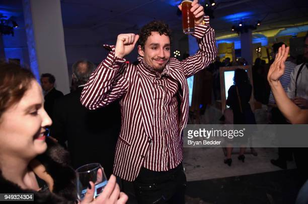 Actor Robert Sheehan attends the National Geographic Genius Picasso Tribeca Film Festival after party at The Genius Studio 100 Avenue of the Americas...