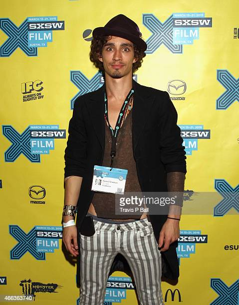 Actor Robert Sheehan attends the premiere of Moonwalkers during the 2015 SXSW Music Film Interactive Festival at Alamo Ritz on March 14 2015 in...