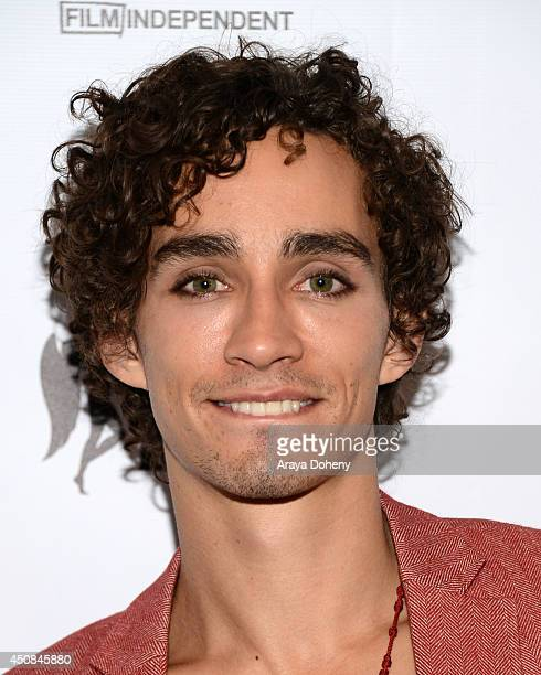 """Actor Robert Sheehan attends the premiere of """"The Road Within"""" during the 2014 Los Angeles Film Festival at Regal Cinemas L.A. Live on June 18, 2014..."""