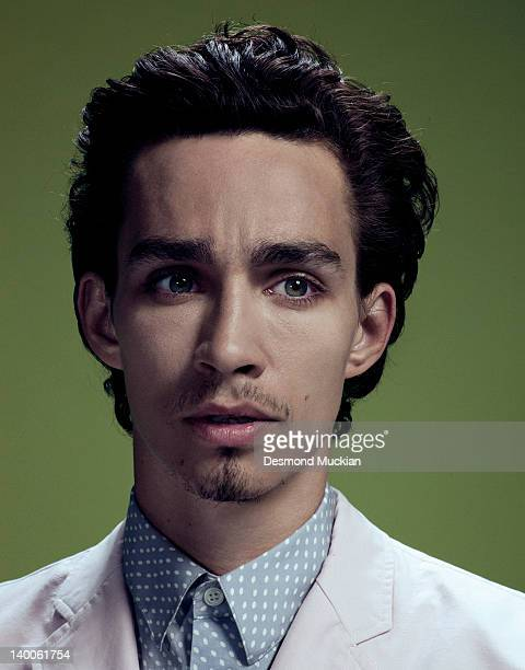 Actor Robert Sheehan is photographed for Esquire UK on February 18 2011 in London United Kingdom