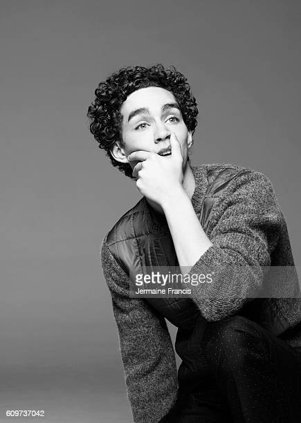 Actor Robert Sheehan is photographed for InStyle magazine on May 29 2013 in London England