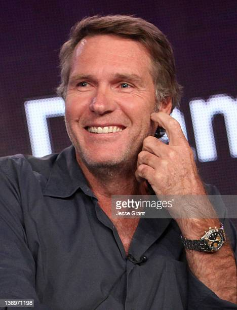 Actor Robert Taylor attends the TCA Panel for AE Network's New Scripted Drama Series Longmire at the Langham Hotel on January 13 2012 in Pasadena...