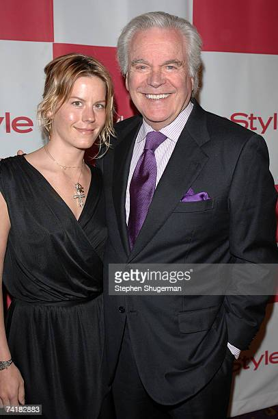 Actor Robert Wagner and daughter Courtney Wagner attend the In Style party celebrating the publication of Joyce Ostin's book A Tribute to Hollywood...