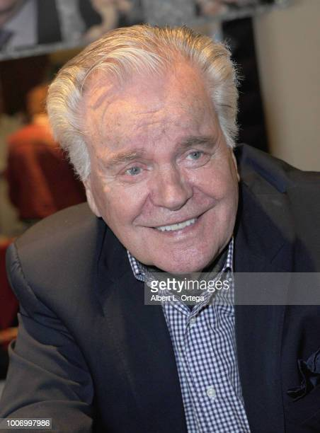 Actor Robert Wagner attends The Hollywood Show held at The Westin Hotel LAX on July 28 2018 in Los Angeles California