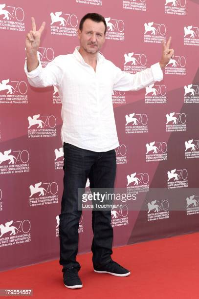 """Actor Robert Wieckiewicz attends """"Walesa. Man of Hope"""" Photocall during The 70th Venice International Film Festival at the Palazzo Del Casino on..."""