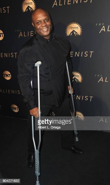 """Actor Robert Wisdom arrives for the Premiere Of TNT's """"The Alienist"""" held at Paramount Pictures on January 11, 2018 in Los Angeles, California."""