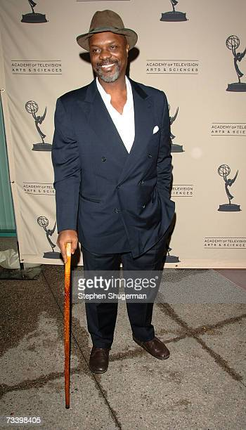 """Actor Robert Wisdom attends an event marking the fourth season of HBO's """"The Wire"""" at the February 22, 2007 in North Hollywood, California."""