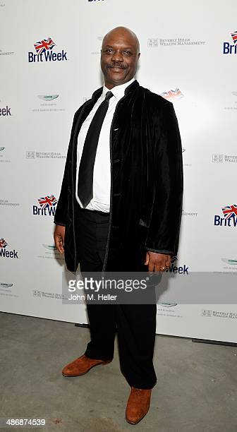 Actor Robert Wisdom attends Britweek's Evening Of Shakespeare, Music & Love at the Moss Theatre at the New Roads School on April 25, 2014 in Santa...