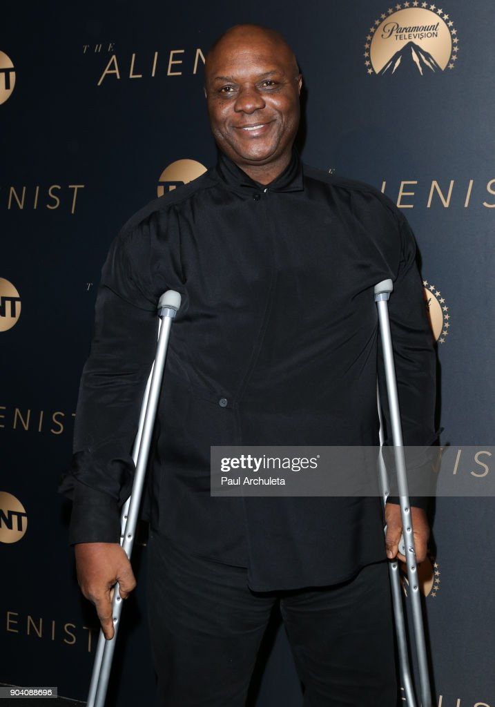 Actor Robert Wisdom attends the premiere of TNT's 'The Alienist' at The Paramount Lot on January 11, 2018 in Hollywood, California.