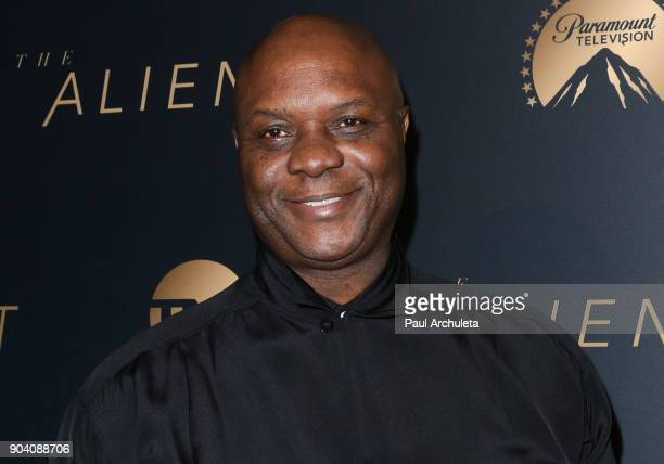 """Actor Robert Wisdom attends the premiere of TNT's """"The Alienist"""" at The Paramount Lot on January 11, 2018 in Hollywood, California."""